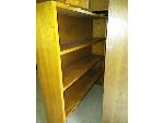 Lot: 12&13.BEA - Bookcase, Books, (4) Rolling Chairs & (4) Mats