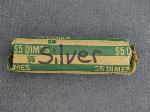 Lot: 56 - ROLL OF SILVER ROOSEVELT DIMES