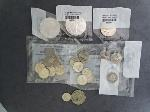 Lot: 5976 - (2) AMERICAN EAGLE COINS, KENNEDY HALF & FOREIGN