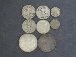Lot: 5987 - WALKING LIBERTY, FRANKLIN HALVES & FOREIGN COINS