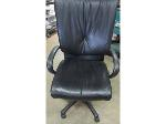 Lot: 57-007 - Leather Office Chair