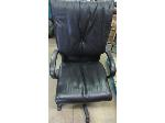 Lot: 57-008 - Leather Office Chair
