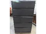 Lot: 57-032 - 5 Drawer Lateral File Cabinet