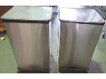Lot: 57-061 - (4) Stainless Steel Waste Cans