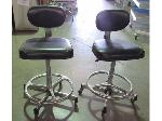 Lot: 57-063 - (2) Adjustable Examination Chairs