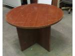 Lot: 57-071 - Round Wooden Table