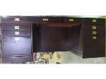 Lot: 57-110 - Executive Wood Desk