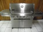 Lot: A7316 - Weber Summit 6-Burner Stainless Steel Grill