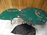 Lot: A7334 - Set of Portable Poker Tables