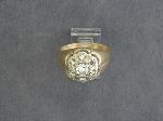 Lot: 5997 - 14K DIAMOND RING