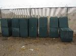 Lot: 12 - (12 APPROX) GREEN TRASHCANS