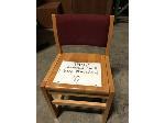 Lot: 1907 - (40) asst wood chairs