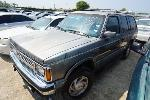 Lot: 30-54321 - 1991 Oldsmobile Bravada SUV
