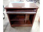Lot: 02-21064 - Small Wood Rolling Desk