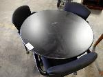 Lot: 02-21070 - Table with (3) Chairs
