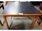 Lot: 02-21072 - Square Wood Table