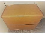 Lot: 33&34 - (2) Wood File Cabinets