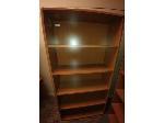 Lot: 43&44 - (2) Wood Bookshelves