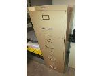 Lot: 61&62 - File Cabinet & Round Table