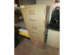 Lot: 84&85 - File Cabinet & Wooden Marker Board