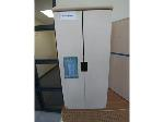 Lot: 89-91 - Wooden Toy Refrigerator, File Cabinet & Wooden Toy Stove