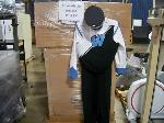 Lot: 257 - (4 BOXES) OF BAND UNIFORMS & HATS