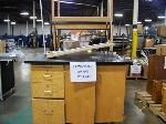 Lot: 242 - (6) SCIENCE CABINET & TABLES