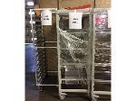 Lot: 5901 - (5) Holding Racks w/ Equipment