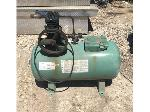 Lot: 1940 - Space Heater, Engine & Air Compressor