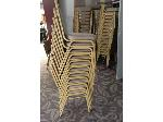 Lot: 60 - (10) Stackable Chairs