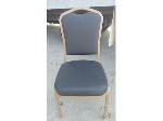 Lot: 02-DSC - (18) Black Banquet Chairs