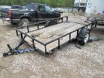 Lot: 810 - 2015 TEXAS BRAGG TRAILER