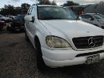 Lot: 10-633955C - 2002 MERCEDES-BENZ  ML320 SUV