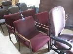 Lot: 1,2&3 - (13) Chairs & (4) Arm Chairs