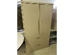 Lot: 19&20.BEA - FILE CABINET, BOOK CASE &  (2) STEREO SYSTEMS