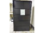 Lot: 61.UVA - FILE CABINETS, BOOKCASE, CHAIRS & TABLES