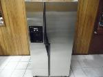 Lot: A7393 - Working Maytag Plus Stainless Refrigerator