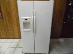 Lot: A7399 - Working Hotpoint SidebySide Refrigerator