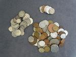 Lot: 6179 - APPROX. (125) FOREIGN COINS