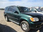 Lot: 03-021732 - 2001 TOYOTA SEQUOIA LIMITED SUV
