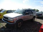 Lot: 19-198980 - 2001 CHEVROLET BLAZER SUV