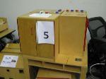 Lot: 05 - (9 PIECES) WOODEN PRESCHOOL FURNITURE (SINK, STOVE, CABINET, TABLE, ETC.)