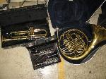 Lot: 06 - BAND INSTRUMENTS AND ELECTRONICS FOR SOUND