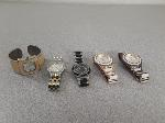 Lot: F444 - (5) WATCHES