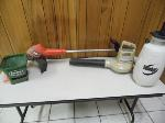 Lot: A7432 - Garden Tools Electric Blower Weed Eater