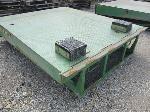 Lot: 07 - Warehouse Manual Dock Leveler w/ (2) Pads