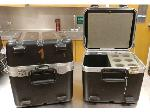 Lot: 15.BG - (2) MICROPHONE FLIGHT CASES