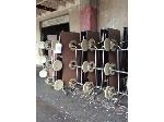 Lot: 5987 - (8) Cafeteria Tables