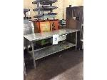 Lot: 6008 - Stainless Steel Table
