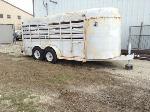 Lot: 1 - Livestock Trailer